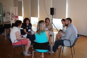 Briefing en grupos reducidos por intereses