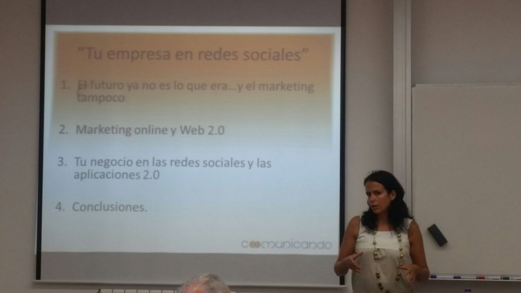Marta González de Coomunicando