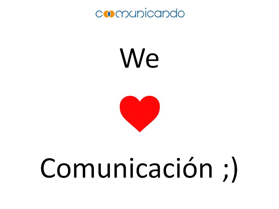 WE LOVE COMUNICACIÓN