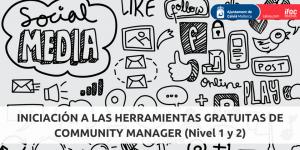 BANNER INICIACIÓN HERRAMIENTAS GRATUITAS COMMUNITY MANAGER